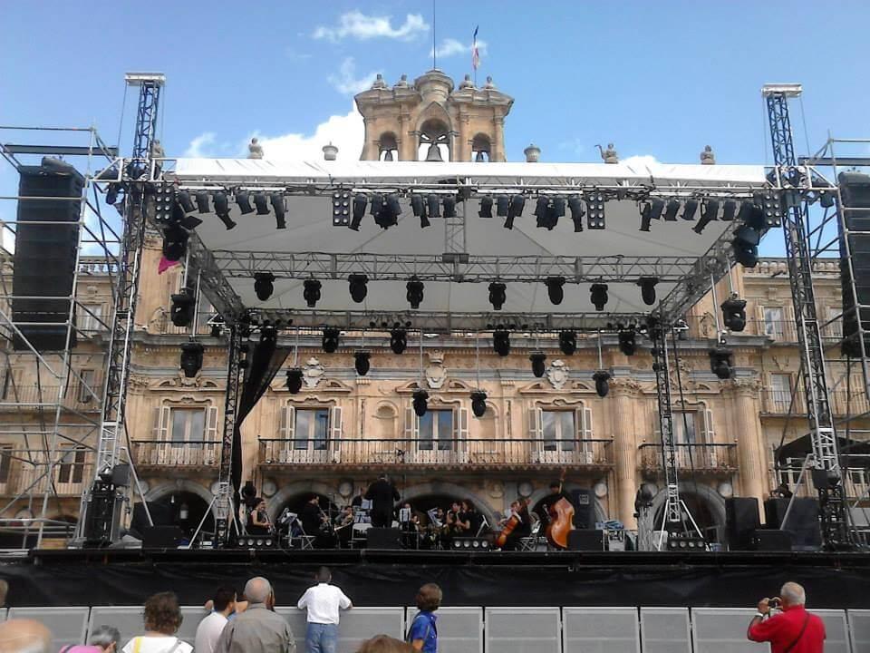 Banda Municipal en las Fiestas de Salamanca