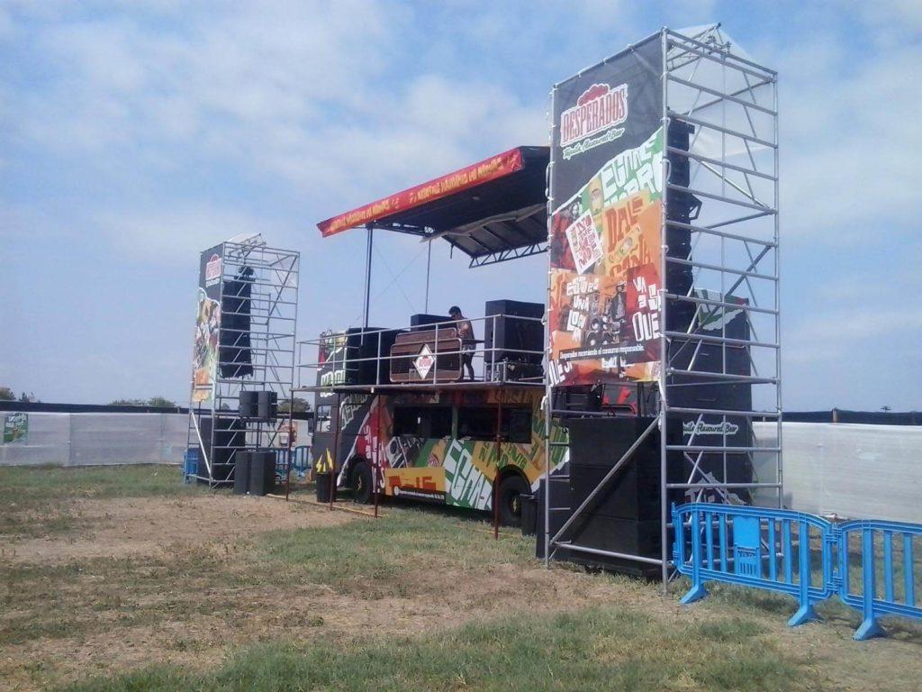 Desperados Zone en Arenal Sound 2015