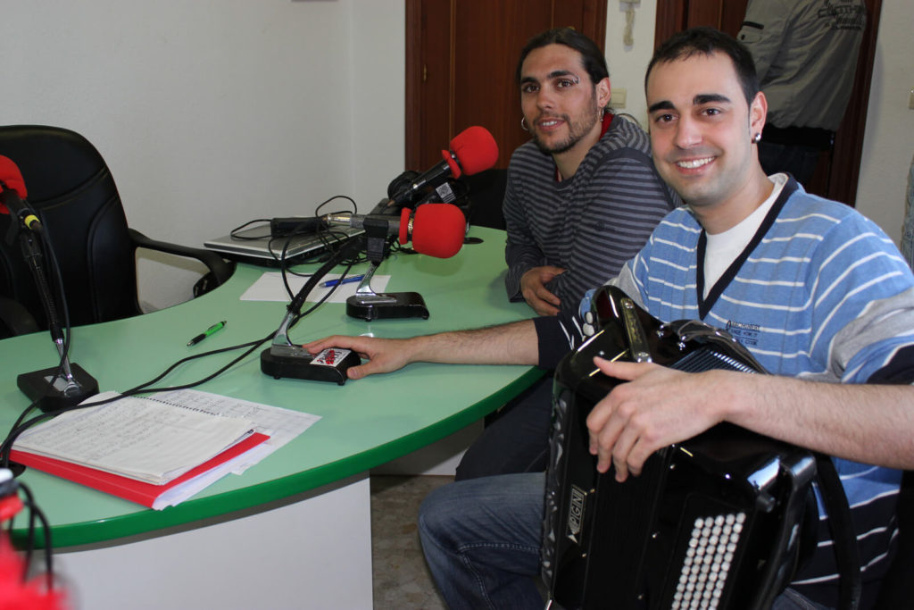 Entrevista en la radio con Raúl Díaz de Dios