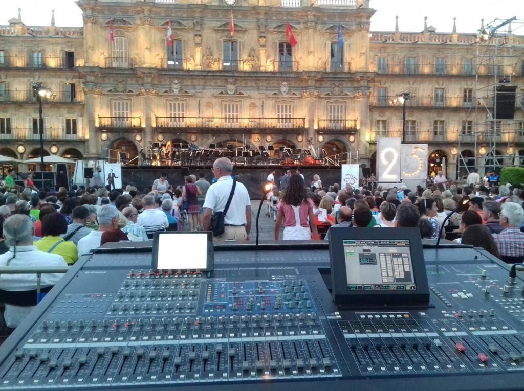 Orquesta sinfónica de CYL en Salamanca