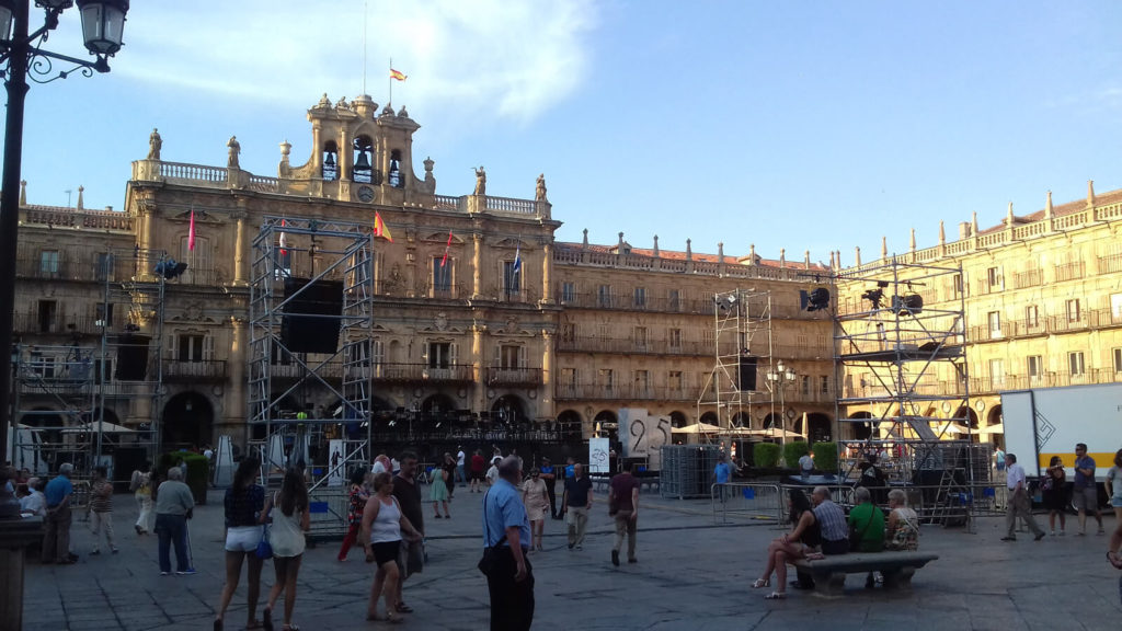 Orquesta sinfónica de CYL en Salamanca 3