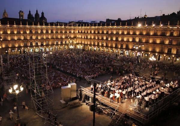 Orquesta sinfónica de CYL en Salamanca 5